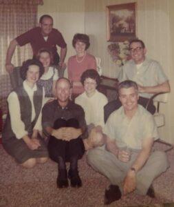 Keckler, Sandoval, Fulwyler family gathering in Rupert, Idaho.